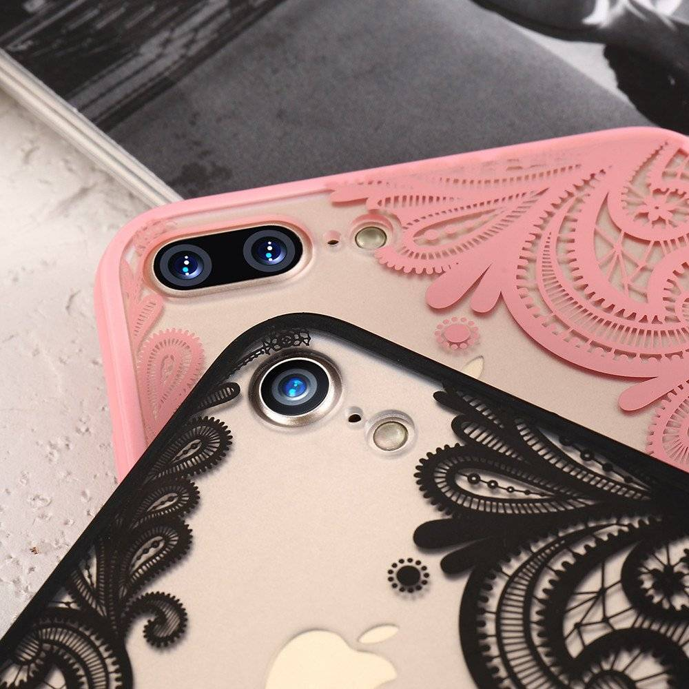 Mehendi Printed Fitted Phone Cases For iPhone