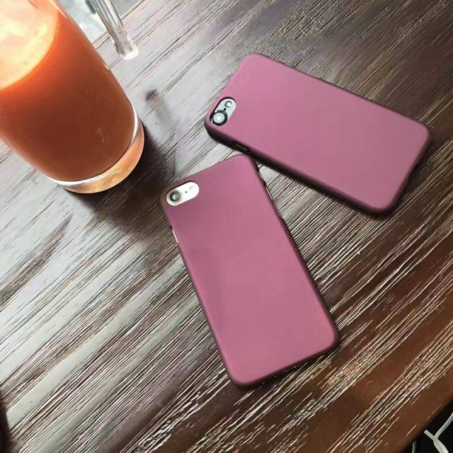 Stylish Hard Matte Phone Case for iPhone