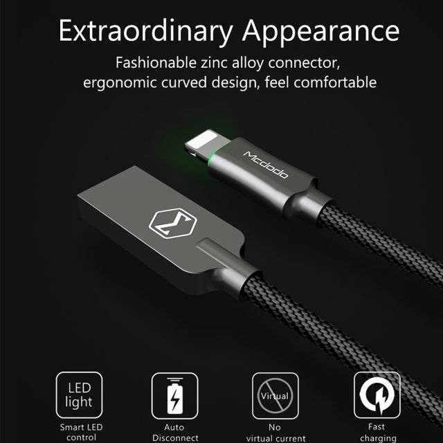 Fast Charging Lightning to USB Cable for iPhone