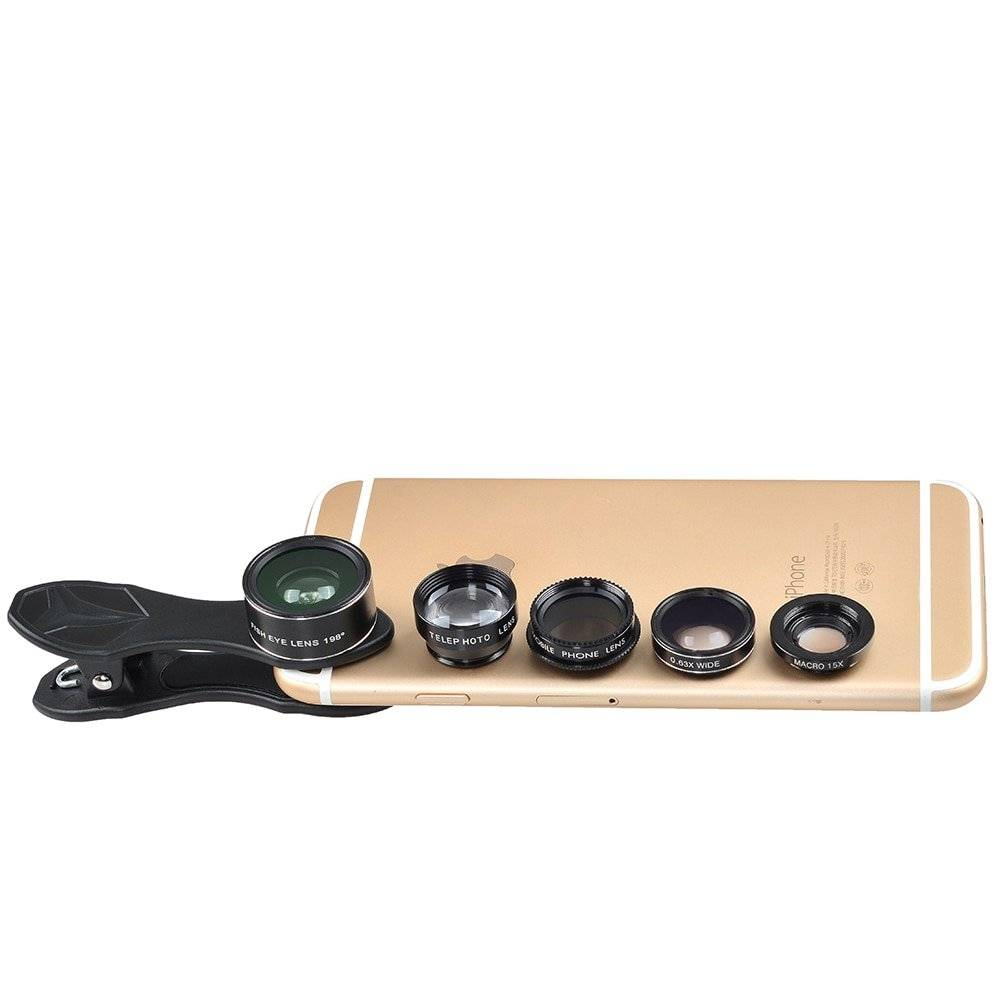 Universal Travel Phone Lenses Kit