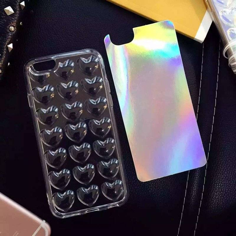 3D Hearts Case for iPhone