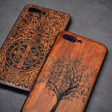 Exquisite Boho Protective Wooden Phone Case