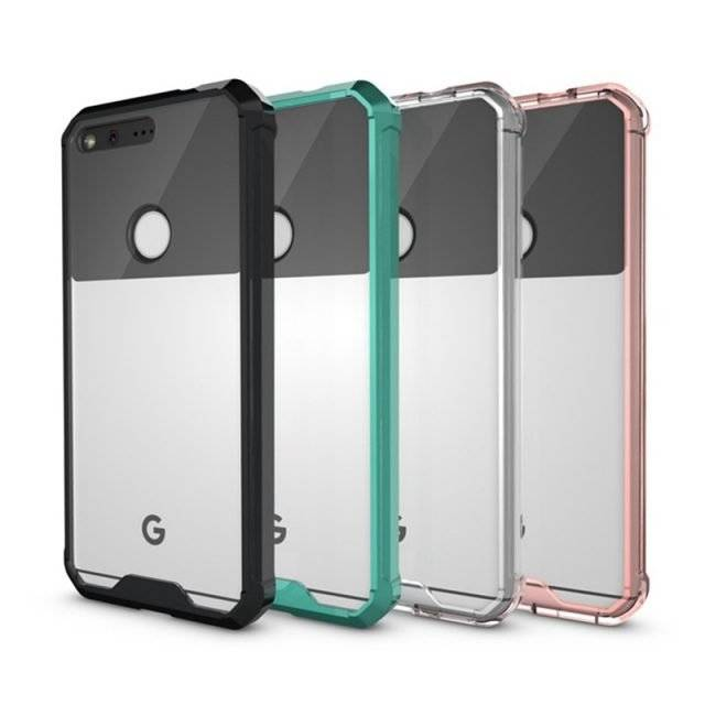Slim Hybrid Plastic Cover Case for Google Phone