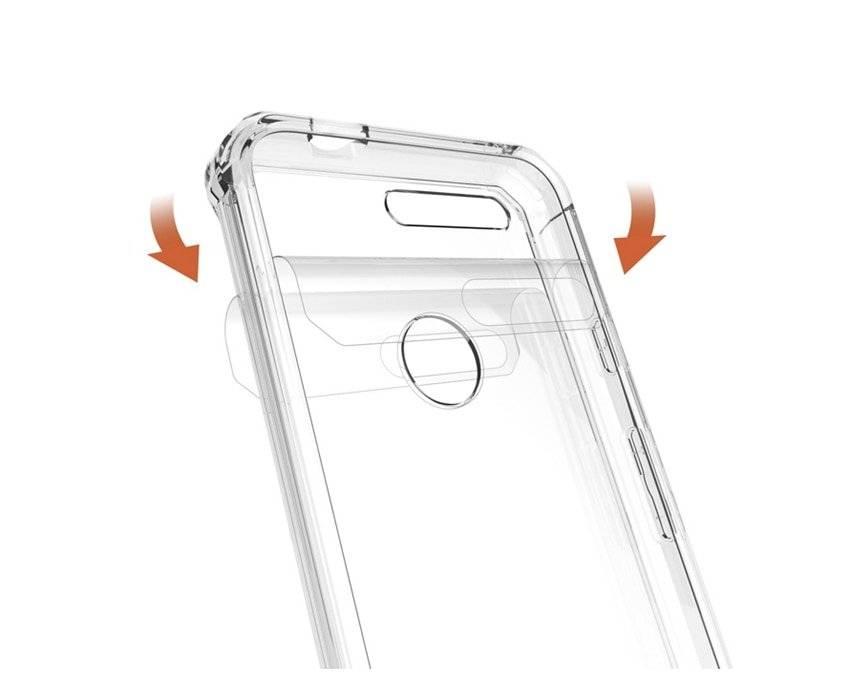 Slim Hybrid Plastic Cover Case for Google Phone