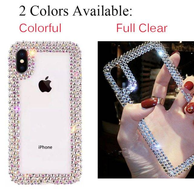 Crystal Cover Case for iPhone