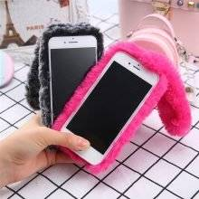 Soft Fluffy iPhone Case