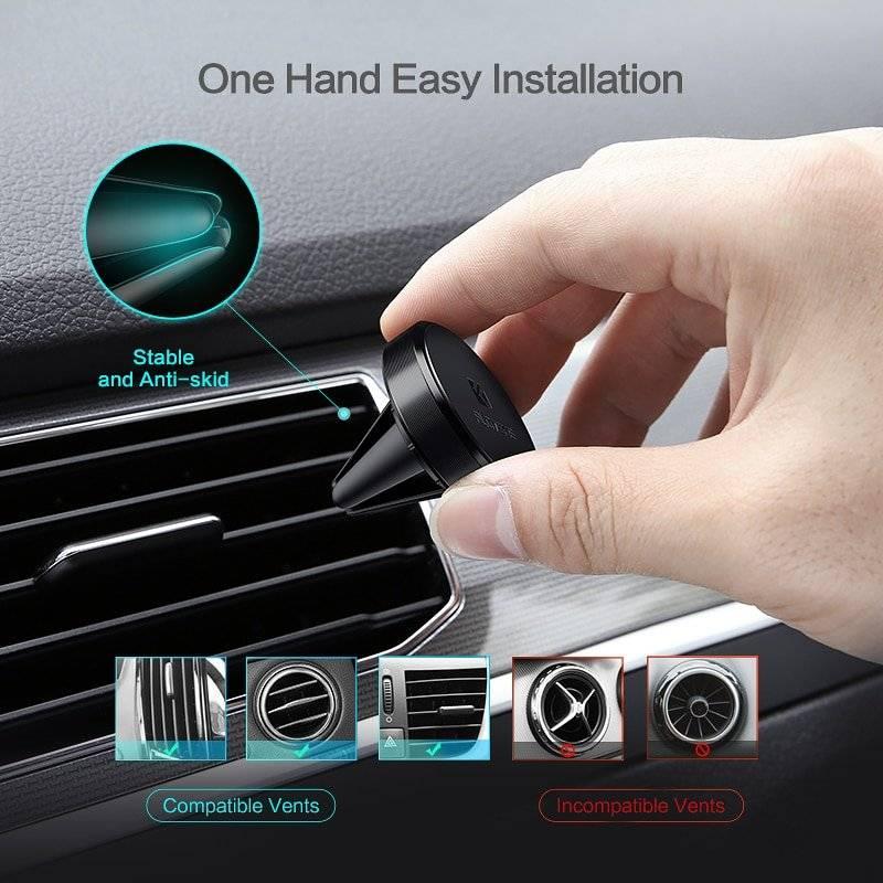 Magnetic Design Universal Car Phone Holder