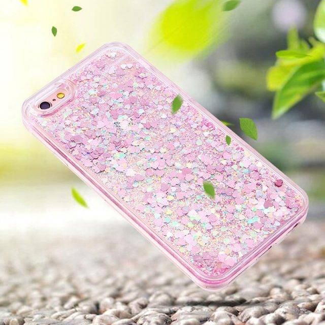 Fashion Glittering Quicksand Protective Phone Case for iPhone