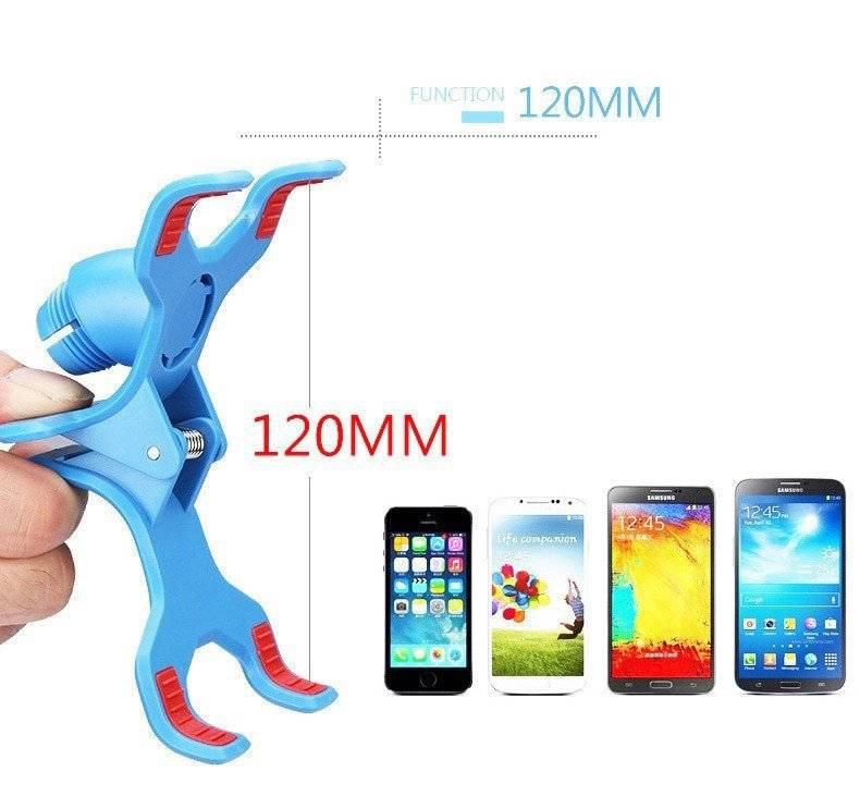 360 Degree Rotatable Colorful Long Arm Phone Stand