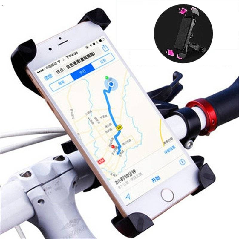 Universal Aluminum Bicycle Phone Holder