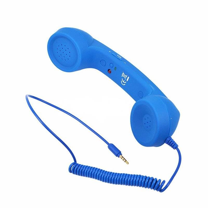 Creative Telephone Tube Phone Handset