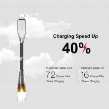 Auto Disconnect Mode USB Charging Cable for iPhone