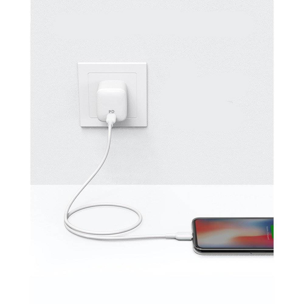 Type-C to Lightning Charging Cable