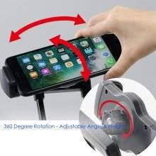 Black Flexible Phone Holder