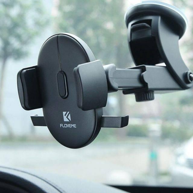 Adjustable Design Car Phone Holder Ships From: China Color: Black