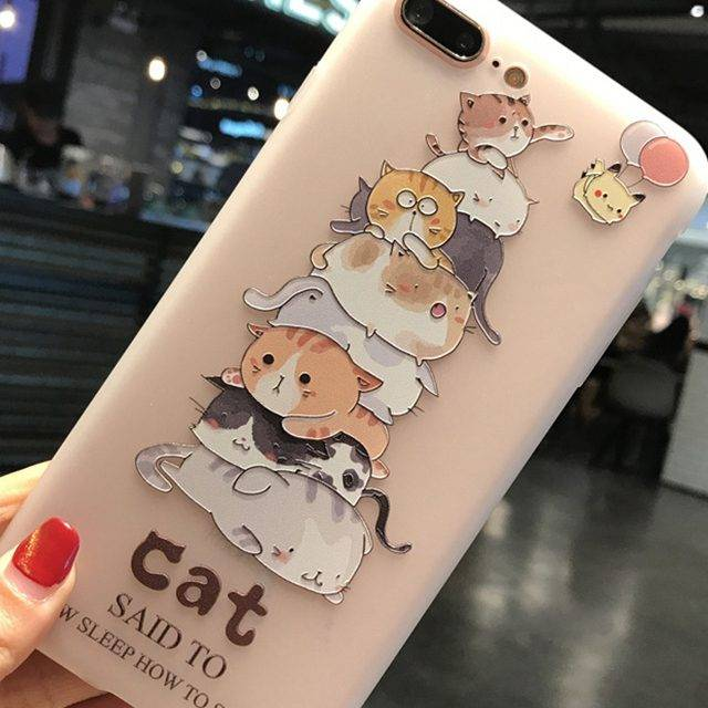 Cute Printed Phone Case for iPhone