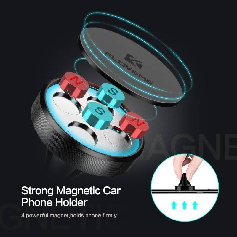 Magnetic Design Air Vent Car Phone Holder