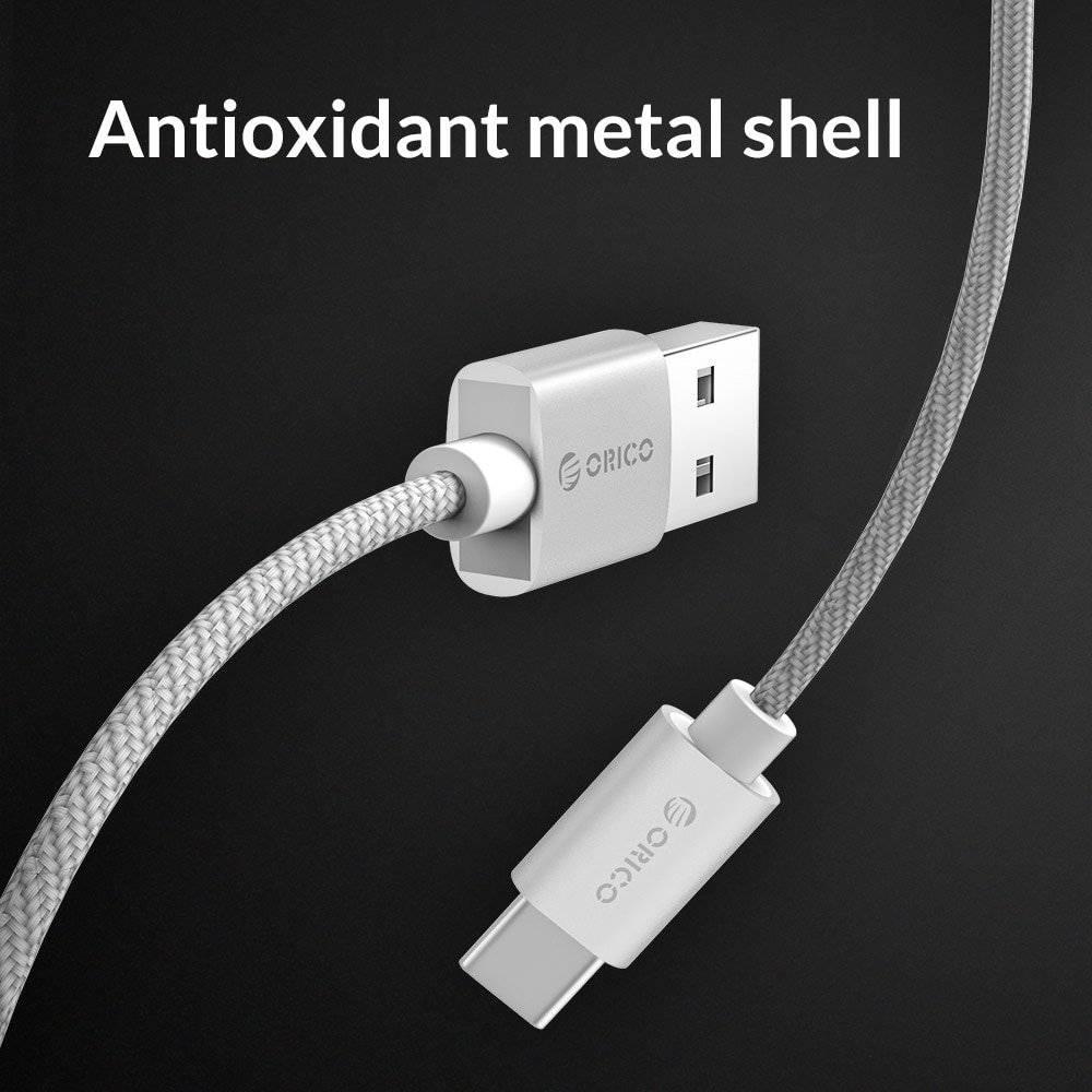 1M Nylon USB Type C Cable