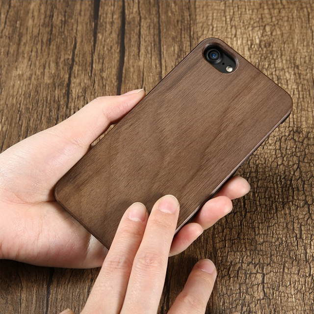 Natural Bamboo Phone Cover For iPhone