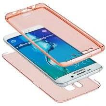 Classic Protective Transparent Full Phone Case for Samsung