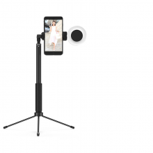 Dimmable Telescopic LED Phone Holder