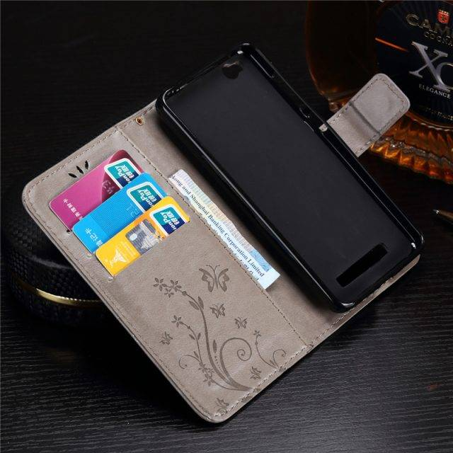 PU Leather Wallet Phone Case