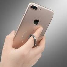 Transparent Phone Holder with Ring