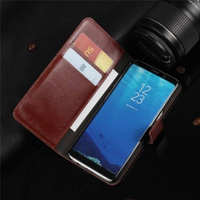 Elegant Flip Leather Phone Cases for Samsung