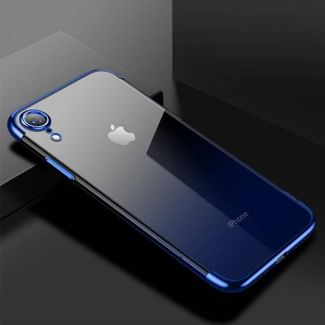 Transparent Gradient Soft Case for iPhone XR