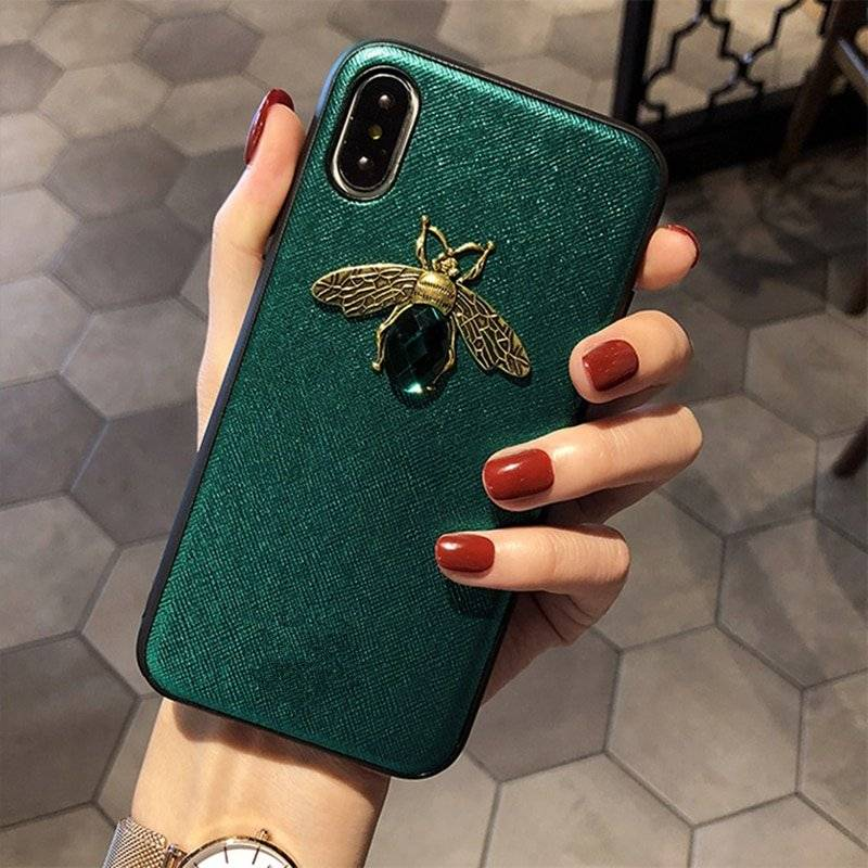 Diamond Bee Soft Case for iPhone