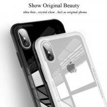 Tempered Glass Phone Case for iPhone