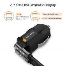 Futuristic Design Ultra Mini Phone Car Charger