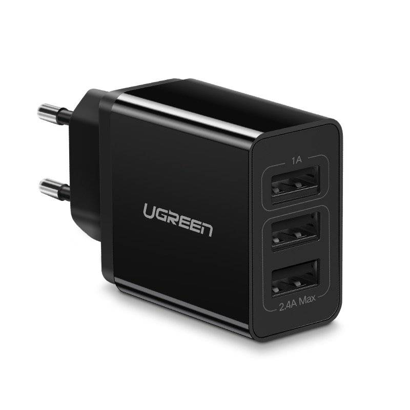 3-Ports USB Phone Charger