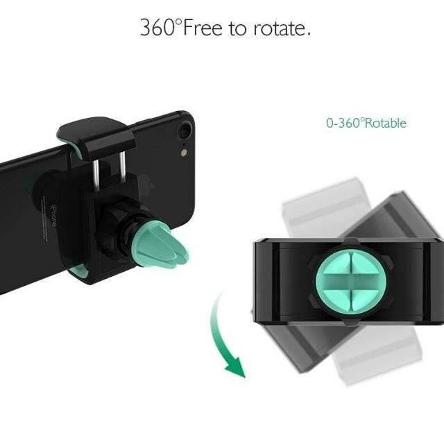 Universal Rotatable Car Phone Holder