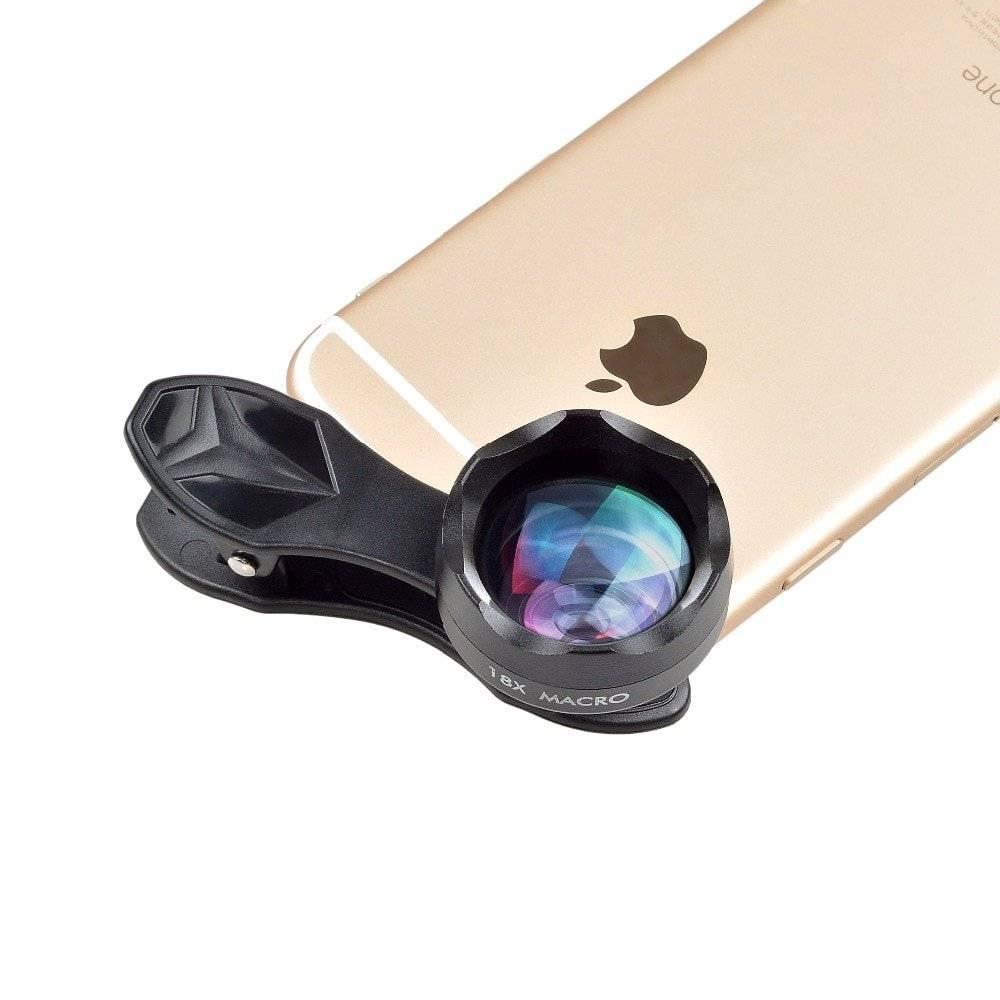 Universal 18X Macro Lens for Smartphones