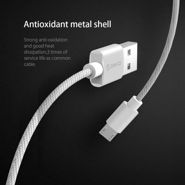 2.4A Fast Charge USB Cable for Androids