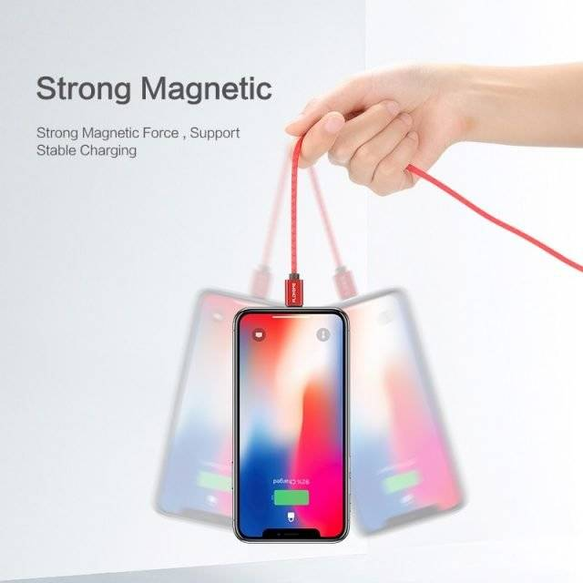 Magnetic Fast Multi Type Charging Cable