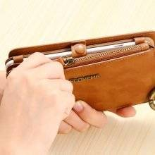 Multifunctional Leather Wallet Phone Cases for iPhone