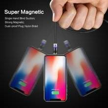 3 in 1 Magnetic Design Interchangeable USB Cable