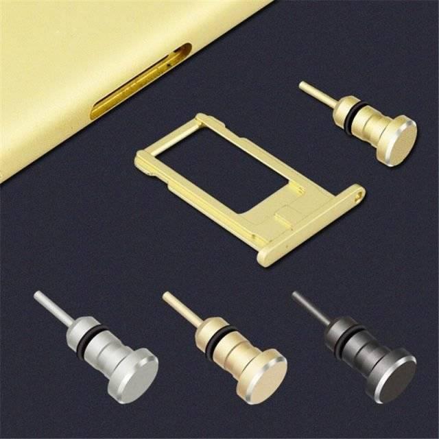 Protective Metal Phone Jack Dust Plug