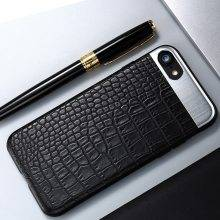 Alligator Leather Style Case for iPhone