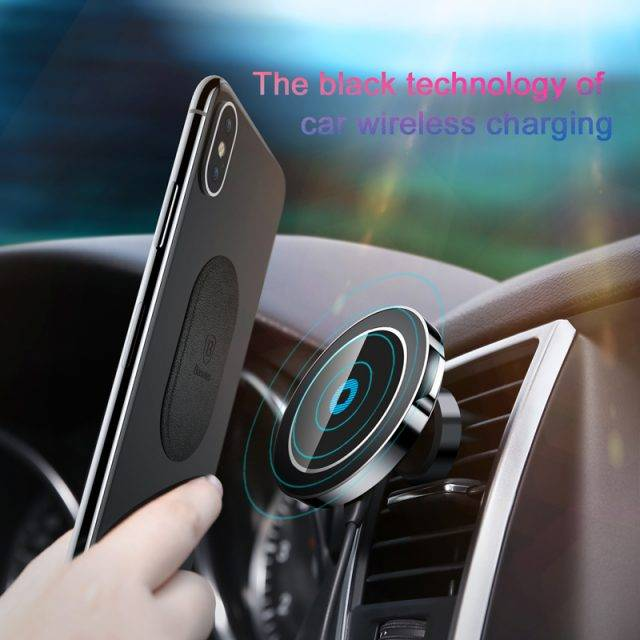 Fast Wireless Charging Magnetic Car Phone Holder