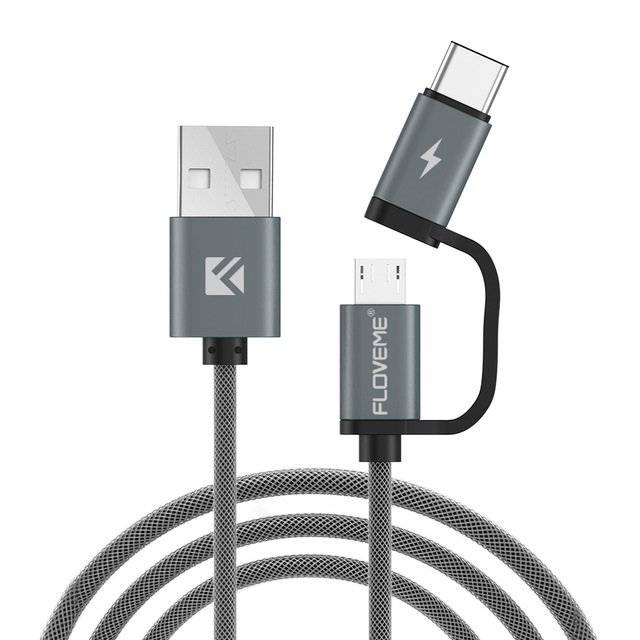 Micro USB to Type C Cable