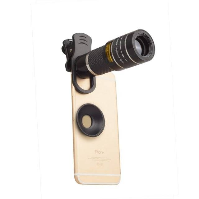 Multifunction 20x Telescope Phone Lens and Monocular
