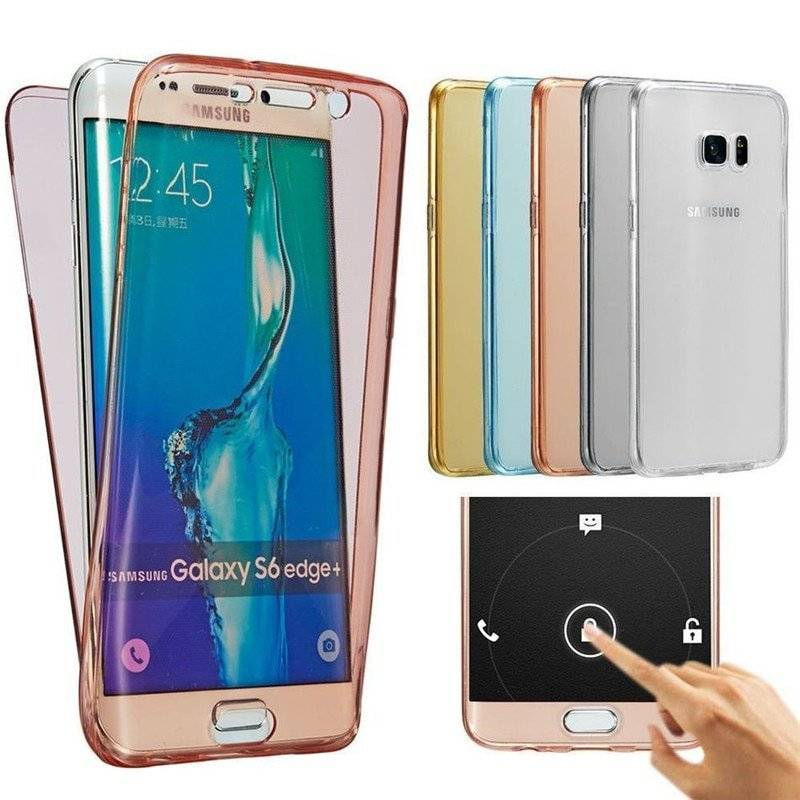 Full Silicone Phone Case for Samsung Galaxy