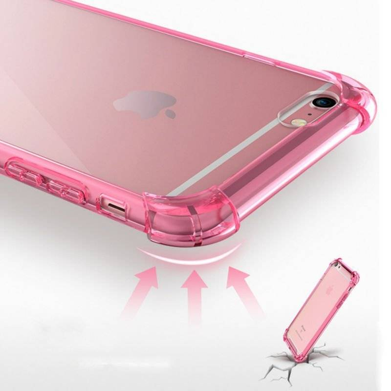 Shockproof Transparent Case for iPhone