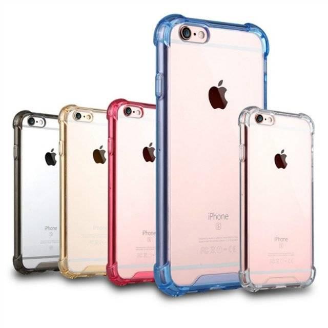 Shockproof Transparent Case for iPhone