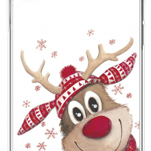 Christmas Mood Cartoon Case for iPhone