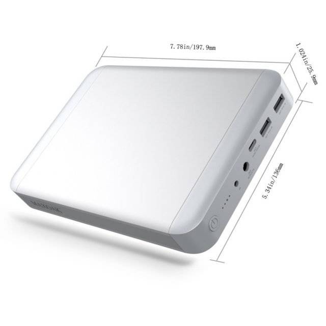 Laptop Power Bank 36000 mAh