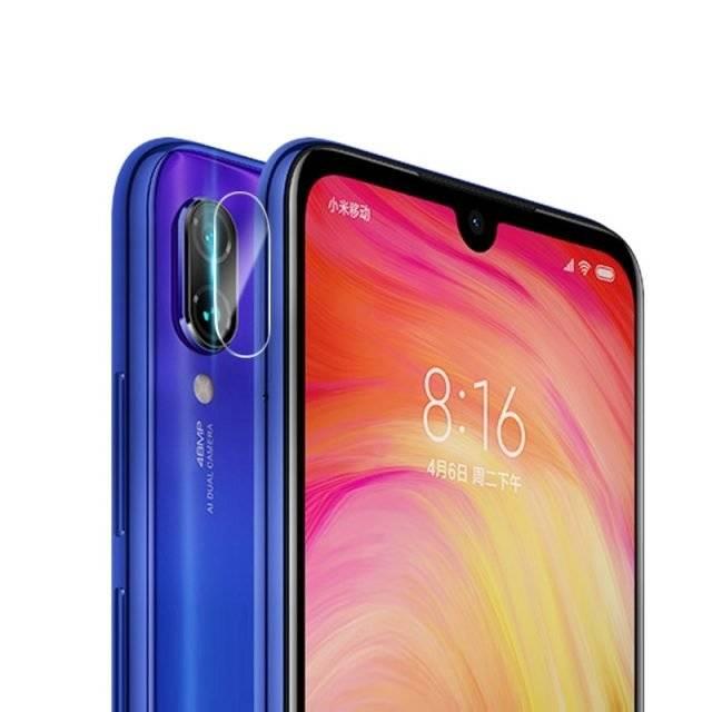 Screen and Camera Protectors for Xiaomi Redmi Note 7